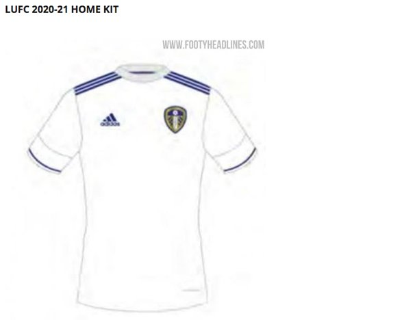 Leeds United News 20 21 Home And Away Leeds Kits Leaked By Website